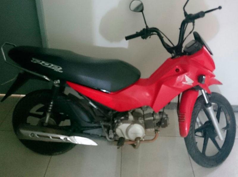 motocicleta roubada Nossa Senhora do Socorro Sergipe