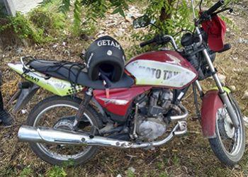 Policiais do 3.º BPM recuperam motocicleta tomada de assalto no Centro de Itabaiana