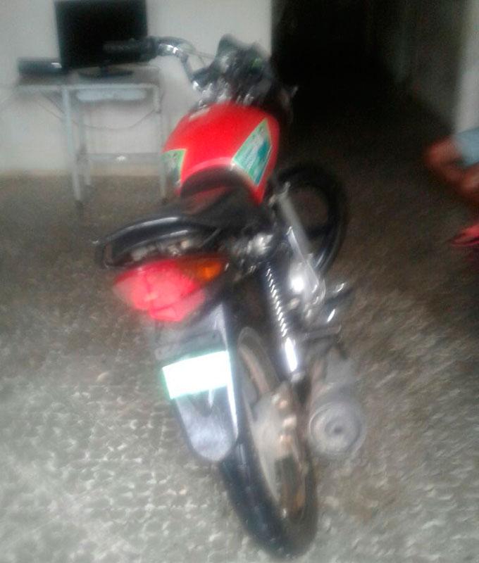 Dupla Moto Roubada Macambira Sergipe