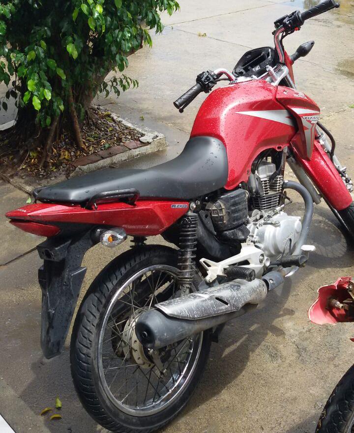 Motocicleta Roubada Moita Bonita Sergipe