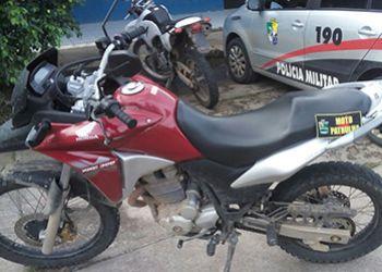 Tomada de assalto: Condutor de motocicleta � detido ap�s ser flagrado de posse de ve�culo roubado