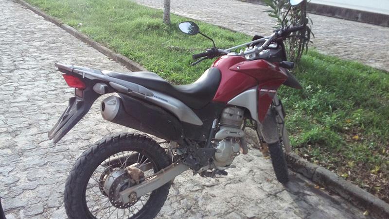 Motocicleta recuperada Itabaiana Sergipe