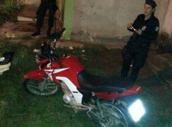 A��o policial: PM frustra a��o de criminosos e recupera motocicleta tomada de assalto