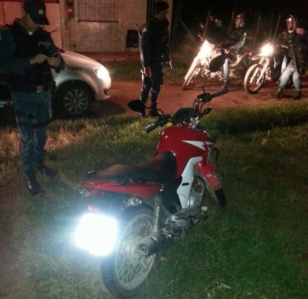 moto roubada Itabaiana Sergipe recupera PM