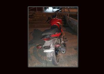 PM e PC recuperam em Itabaiana motocicleta tomada de assalto em Moita Bonita