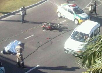 Motociclista morre em Aracaju ap�s ser atingido por ca�amba