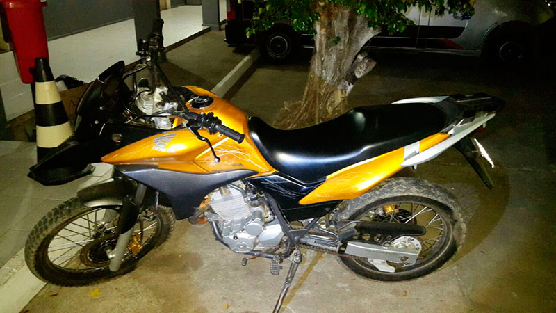 motocicleta tomada assalto PM Sergipe
