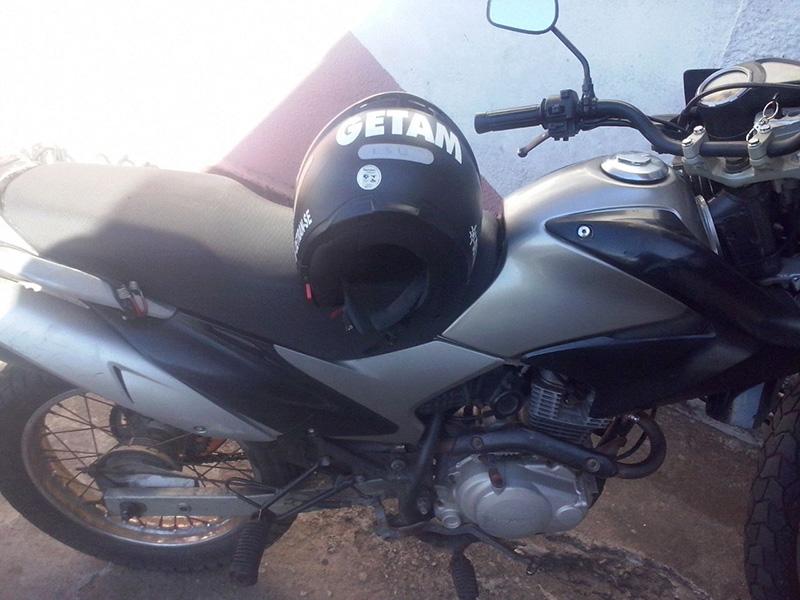 motocicleta Placa Clonada