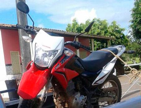 motocicleta roubada Aracaju Sergipe