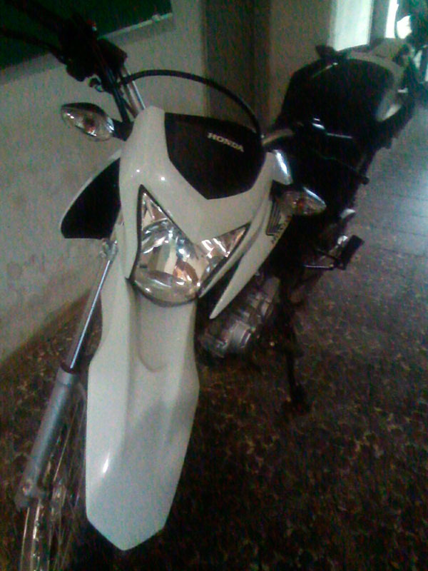 motocicleta NXR 160 Bros assalto Itabaiana Sergipe