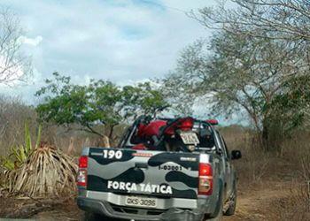 Motocicleta com restri��es de roubo � encontrada em matagal na zona rural de Itabaiana