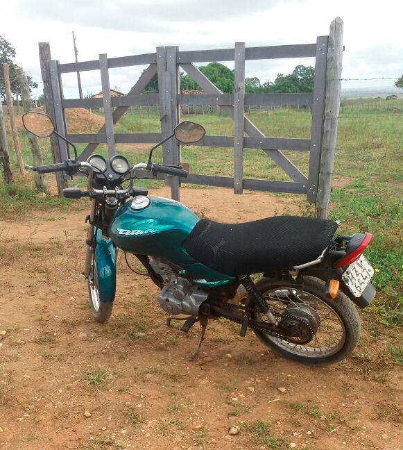 motocicleta recuperada Macambira Sergipe