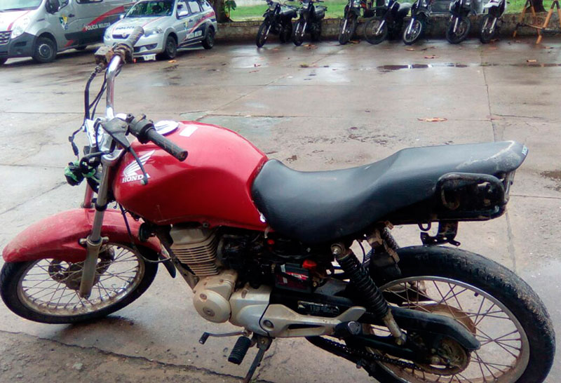 motocicletas roubadas Itabaiana Sergipe