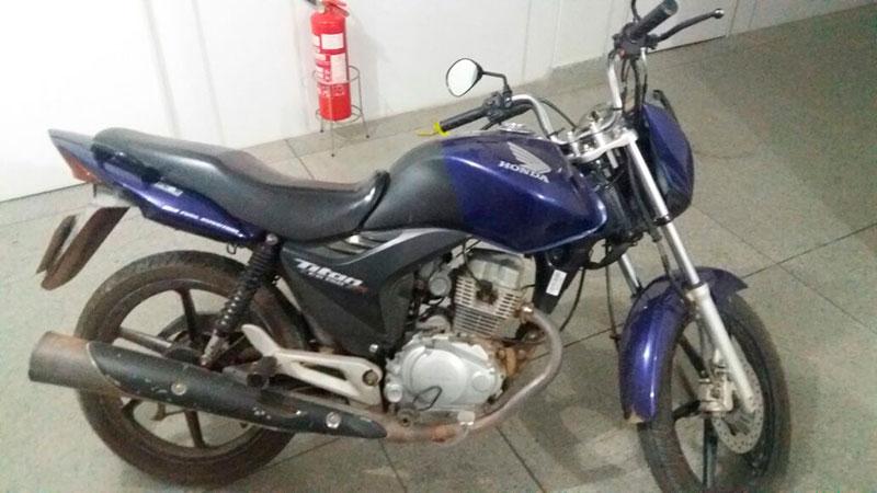 motocicleta roubada Frei Paulo Sergipe