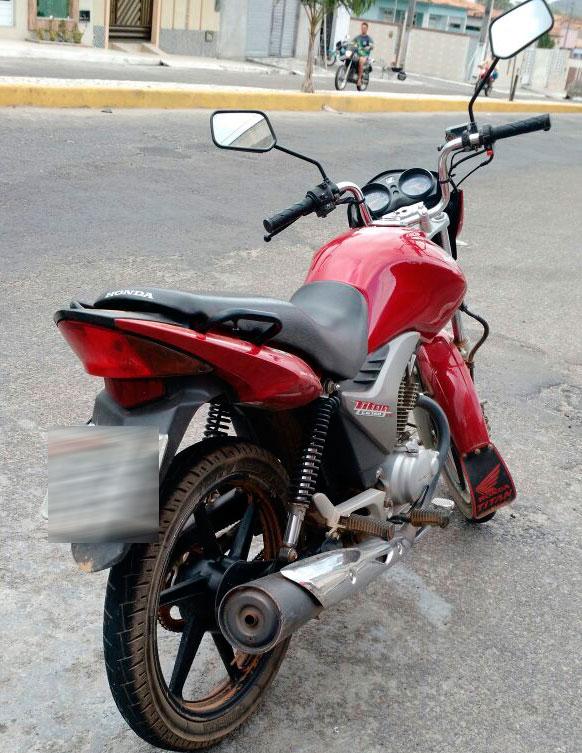 motocicleta roubada Itabaiana Sergipe recuperada Polícia Militar