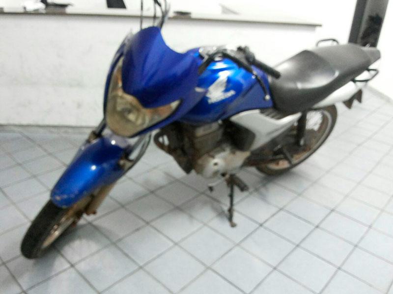 motocicleta recuperada Moita Bonita Sergipe
