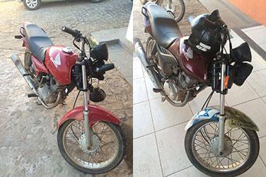 motocicletas apreendidas povoado Serra Preta Frei Paulo Sergipe