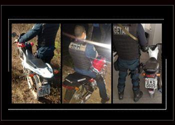 PM localiza três motocicletas em processo de desmanche na sede do município de Itabaiana e na Zona Rural