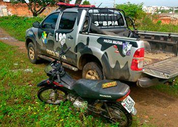 Oito motocicletas s�o recuperadas pela PM na regi�o Agreste em apenas uma semana