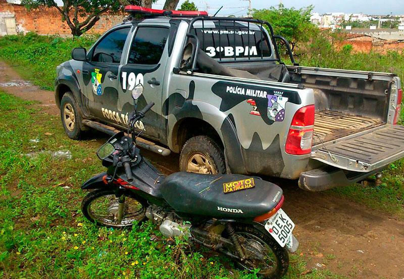 motocicletas apreendidas Itabaiana Sergipe