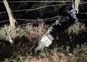 Condutor de motocicleta � encontrado ferido na Zona Rural de Itabaiana