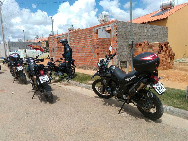 roubo motocicletas Itabaiana Sergipe