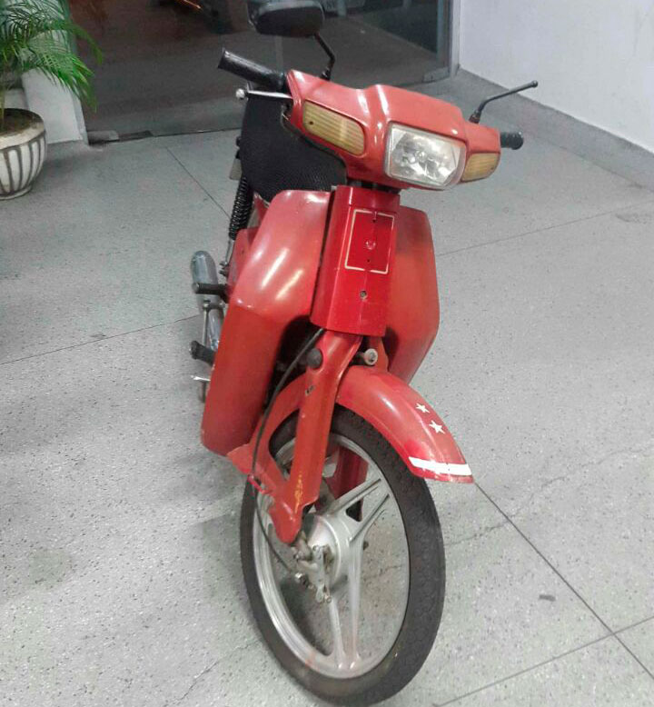 motoneta Traxx roubda Itabaiana Sergipe