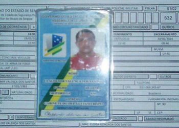 Motorista do diretor da Assembleia Legislativa de Sergipe � flagrado com arma de fogo em Itabaiana