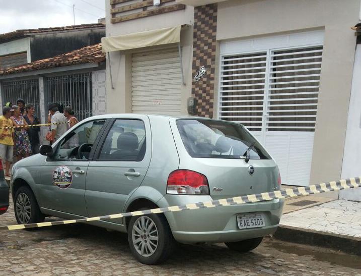 homicídio Praça de Eventos Ribeirópolis Sergipe