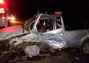 Colisão na BR-235 no município de Areia Branca deixa uma pessoa morta