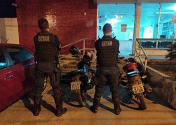 Pol�cia Militar recupera em Itabaiana motocicletas tomadas de assalto na Zona Rural