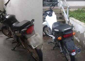 Equipes do 3.° BPM recuperam 4 motocicletas com restrições de roubo em Itabaiana