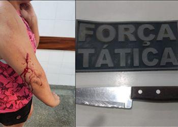 Briga envolvendo duas mulheres termina em tentativa de homicídio na cidade de Itabaiana