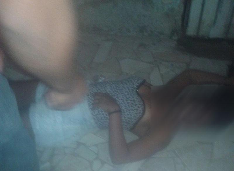 mulher morta bar tiros Lagarto Sergipe