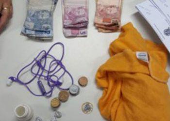 Mulher é presa no Centro Comercial de Itabaiana suspeita de cometer tráfico ilícito de drogas