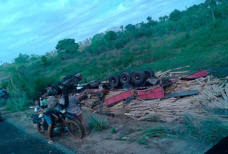 carreta Itabaiana Sergipe acidente Maranhão
