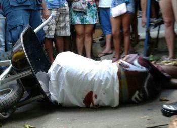 Na feira livre: Ex-presidi�rio � executado a tiros na cidade de Carira