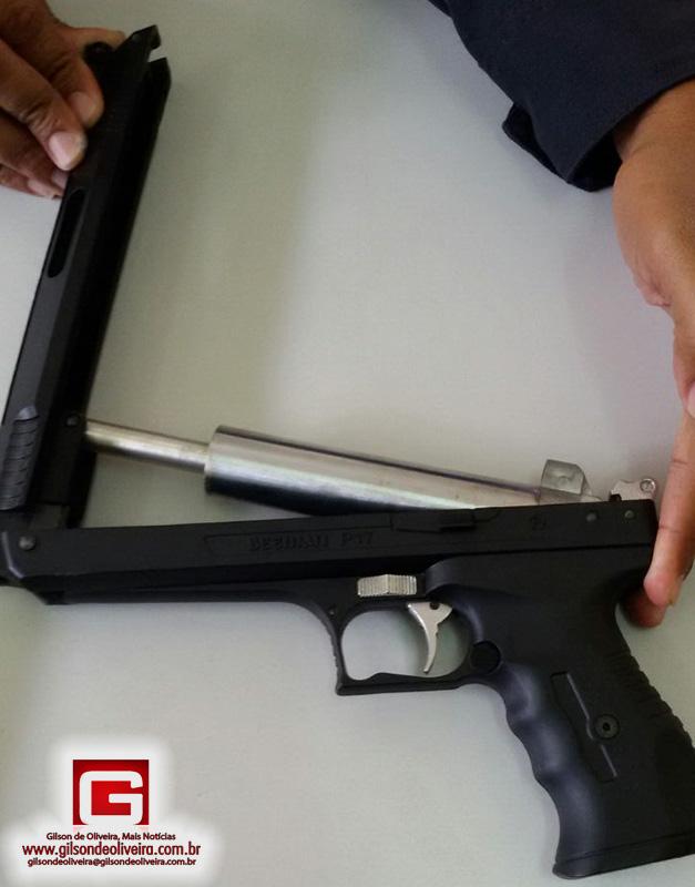 pistola pressão