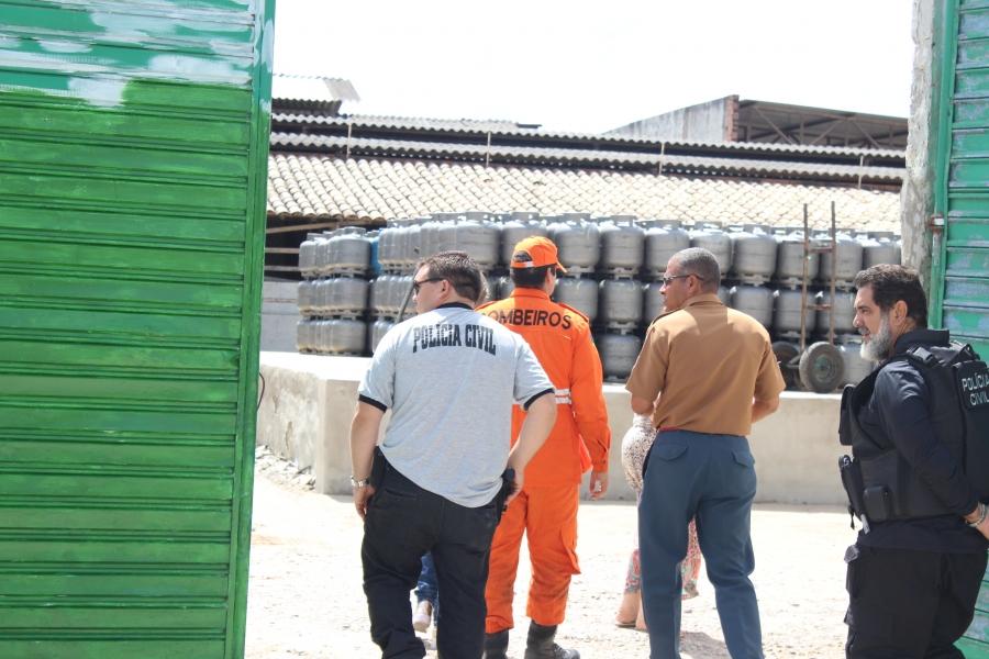 fiscalização pontos de venda GLP Itabaiana Sergipe