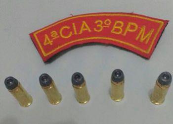 PM flagra jovem de posse de muni��es intactas na periferia de Itabaiana