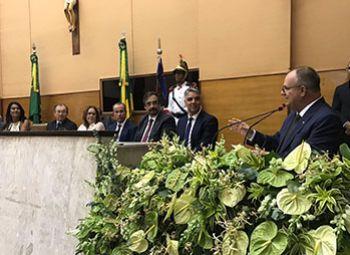 Belivaldo Chagas e Eliane Aquino s�o empossados nos cargos de Governador e Vice-governadora do Estado de Sergipe