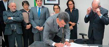 Deputado Garibalde Mendon�a toma posse como Presidente da Alese