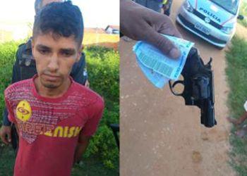 Jovem é preso em flagrante no município de Lagarto após assassinar o ex-companheiro a tiros