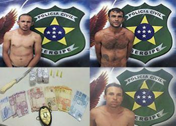 Suspeitos em delitos de furto, tr�fico de drogas e roubo majorado s�o presos durante a Festa dos Caminhoneiros