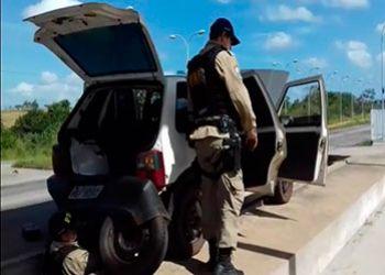 Motorista � preso pela Pol�cia Rodovi�ria Federal com maconha oriunda do Centro-Oeste