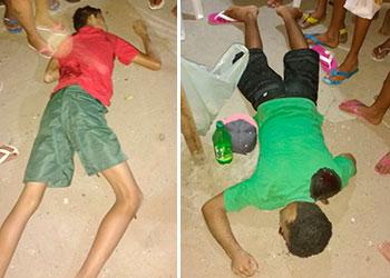 adolescentes assassinados bairro Queimadas Itabaiana Sergipe
