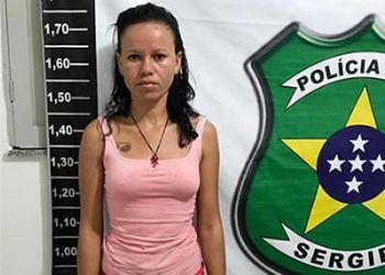 Mulher é presa em Itabaiana suspeita pelo delito de homicídio na cidade de Macambira