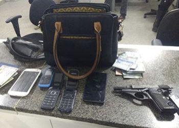 Suspeito � preso pelas equipes do Getam ap�s pr�tica de assalto na zona rural de Itabaiana