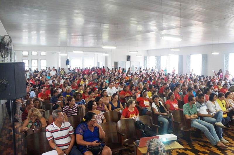 Greve professores de Sergipe