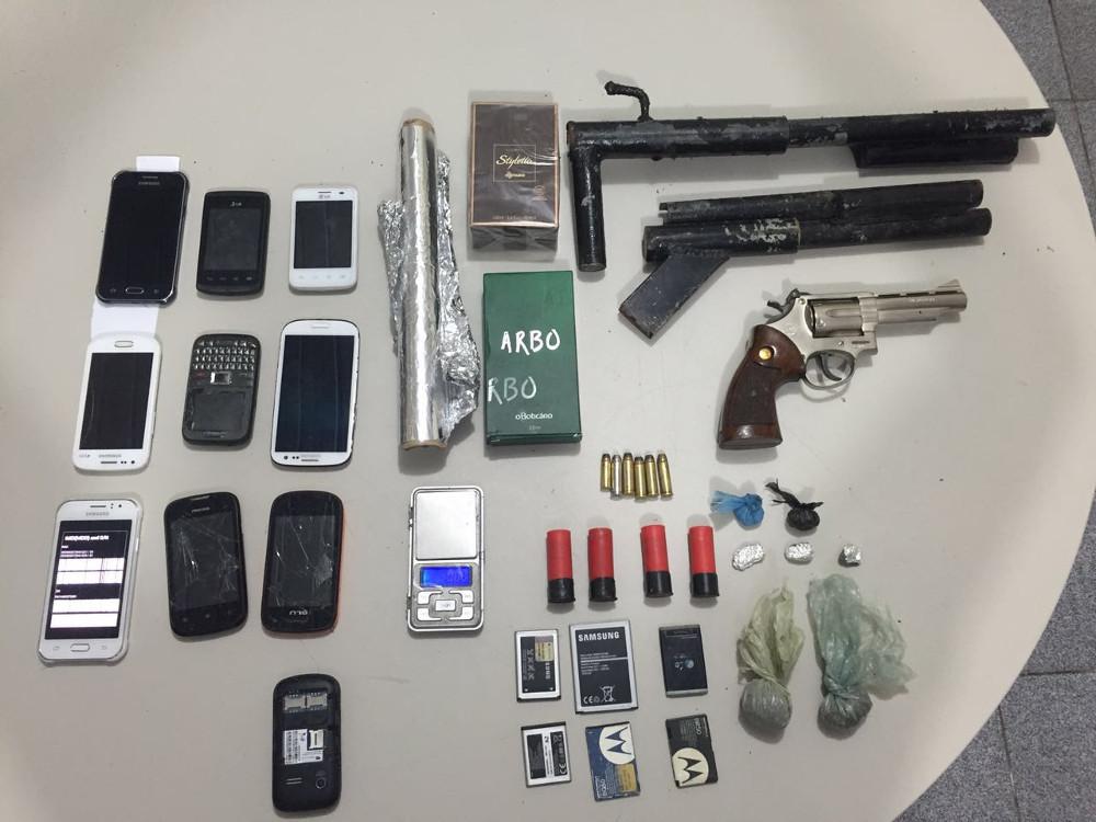 Quadrilha assaltos presos Polícia Civil Sergipe